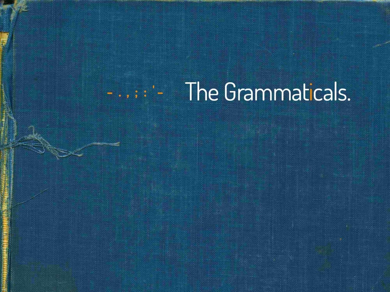 LEaF Translations The Grammaticals