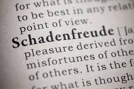 what does schadenfreude mean