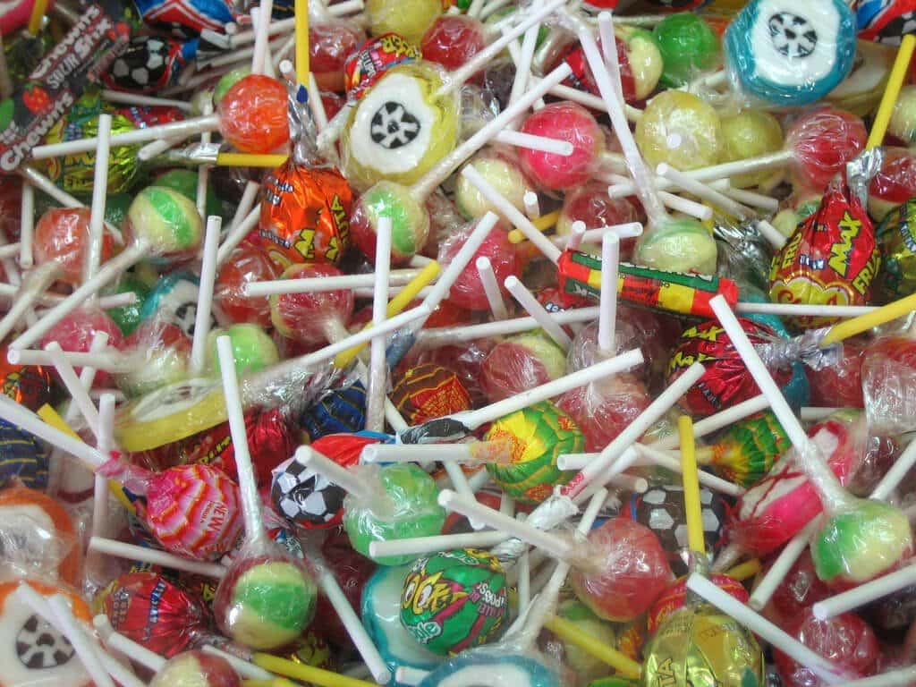 lolly or sweet or candy
