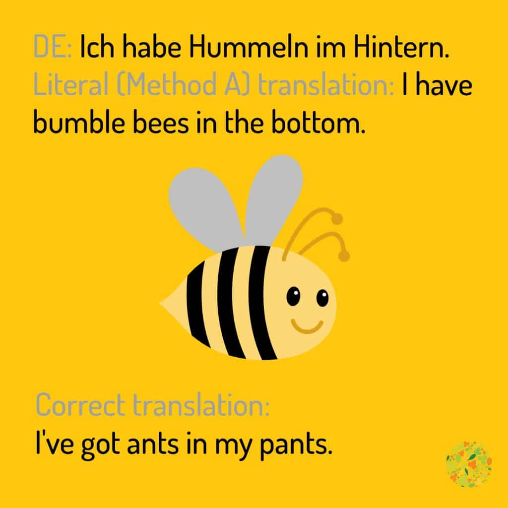 bees in the bottom LEaF Translations
