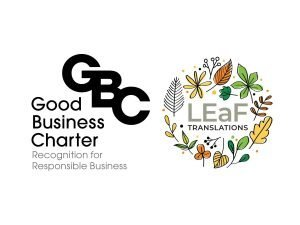 Good Business Charter LEaF Translations